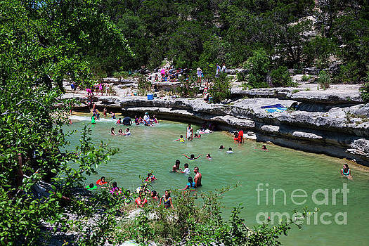 Herronstock Prints - Bull Creek District Park is swimming hole not far from Austin