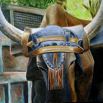 Bull Dressing by Suzahn King