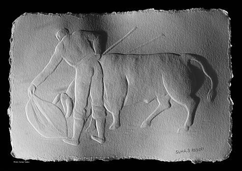 Bull Fighter by Suhas Tavkar