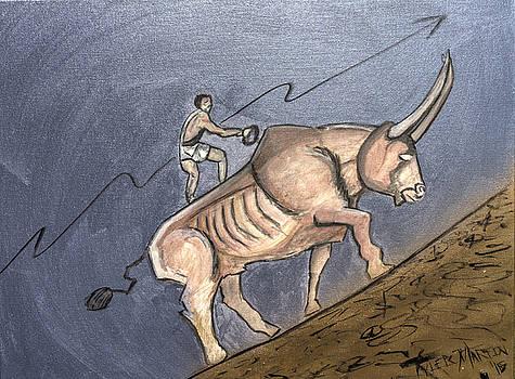 Bull Market Rider by Tyler Martin