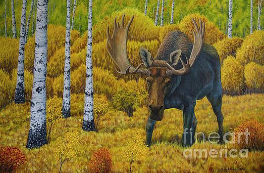 Bull Moose by Veikko Suikkanen