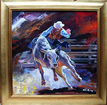 Bull Ride by Alim Adilov