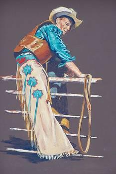 Bull Rider by Lou Baggett