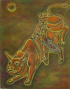 Bull Rider by Silvia Gold