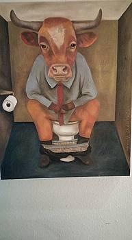 Leah Saulnier The Painting Maniac - Bull Shitter