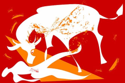 Bull by Sugato Dhar
