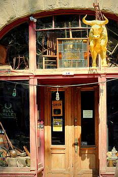 Bull Valley Roadhouse Port Costa CA by Joyce Dickens