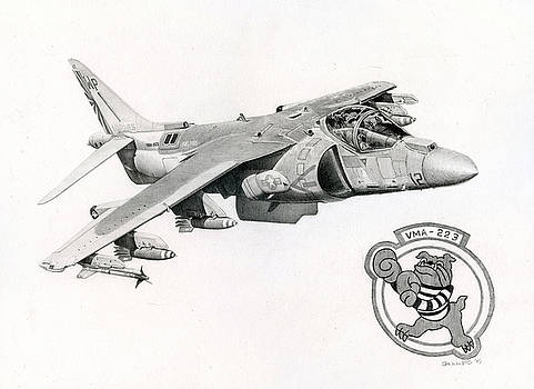 Bulldog Jumpjet by Mark Jennings