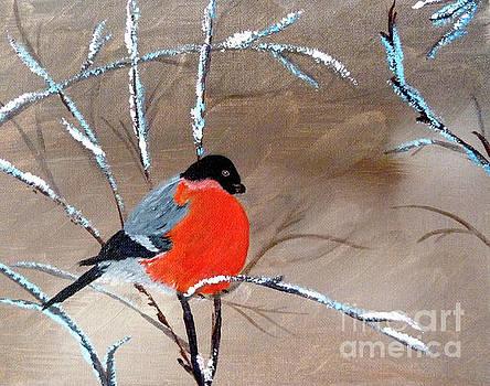 Bullfinch by Inessa Williams