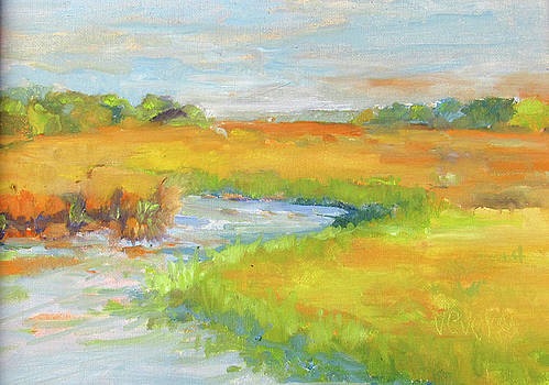 Bulow Creek view from the Chicken Bridge by Trish Vevera