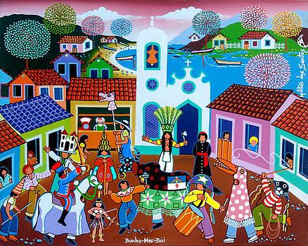 Bumba-Meu-Boi by Militao Dos Santos Militao