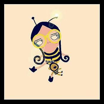 Bumble Bee  by Watcharee Suebkhajorn