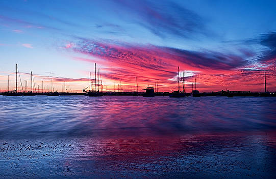 Bunbury Harbour by Heather Thorning
