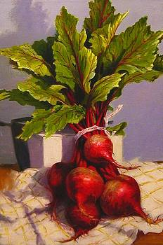 Bunched Beets by Lydia Martin