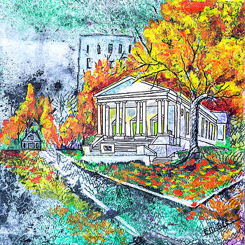 Buncombe St UMC by Edith Hardaway