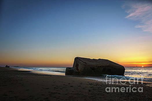 Bunker and Sancti Petri Lighthouse Cadiz Spain by Pablo Avanzini