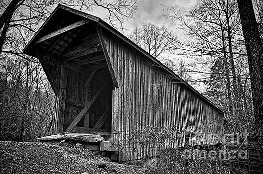 Bunker Hill Covered Bridge by Randy Rogers