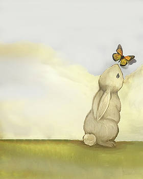 Bunny and the Butterfly by Annie Kehoe