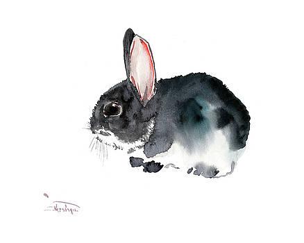 Bunny, Eastern Bunny, Children room Art,  by Suren Nersisyan