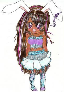 Bunny-girl by Shelby Davis