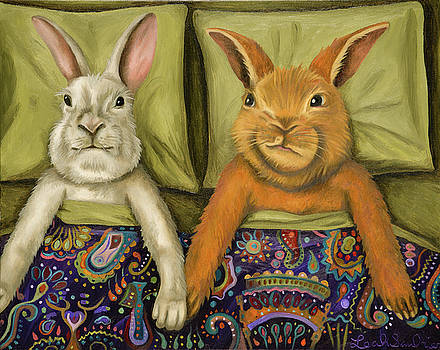 Leah Saulnier The Painting Maniac - Bunny Love