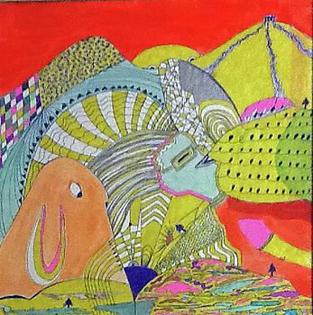 Bunny Mountain by Linnie Greenberg