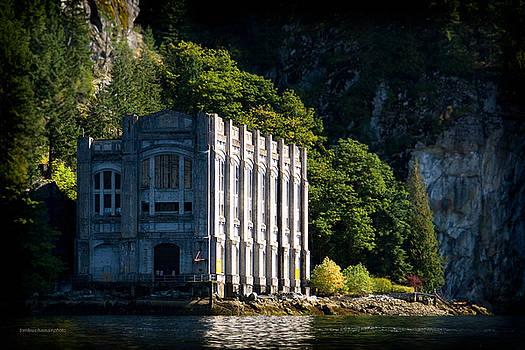 Buntzen Lake Power Station  by Tom Buchanan