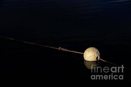 Buoy at Night by Stephen Mitchell