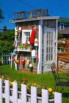 Buoy Shed by John Ellis