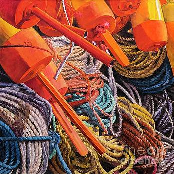 Buoys and Ropes by Lynne Schulte