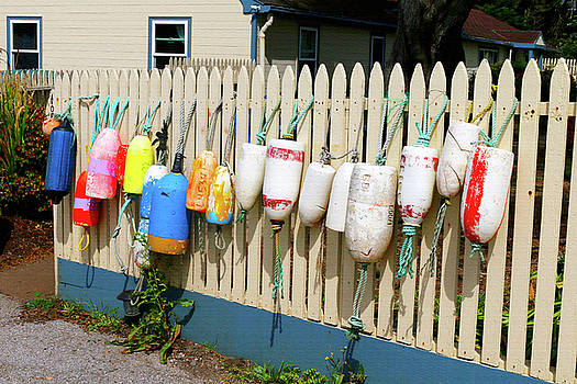 Art Block Collections - Buoys at Point Montara Lighthouse