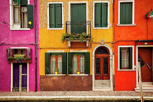 Burano Colors by Andrew Soundarajan