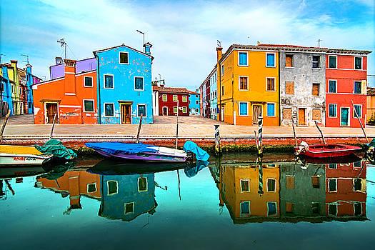 Burano colors by Ivan Vukelic