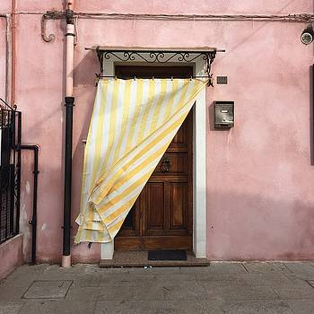 Burano Door by Rosemary Nagorner