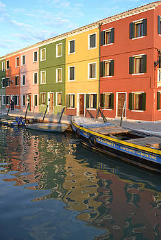 Burano Italy 1 by Rebecca Margraf