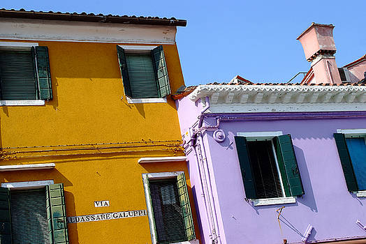 Burano Italy Chimney by John Gilroy