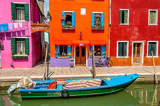 Burano  Italy by Xavier Cardell