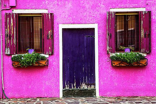 Burano Purple by Andrew Soundarajan