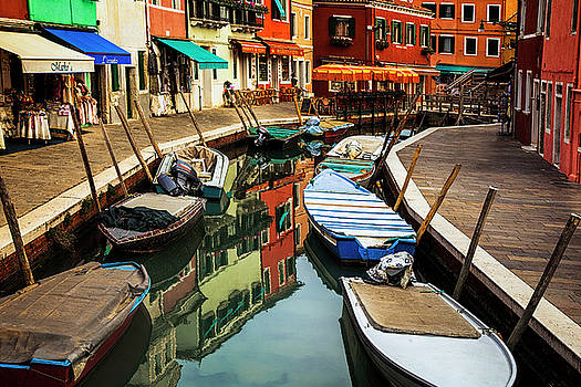 Burano Reflections by Andrew Soundarajan