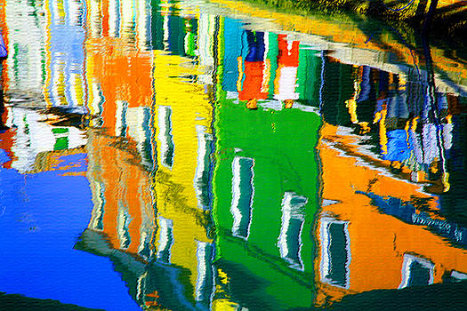Donna Corless - Burano Reflections