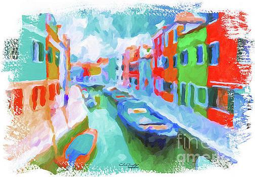 Burano, Venice, Italy by Chris Armytage