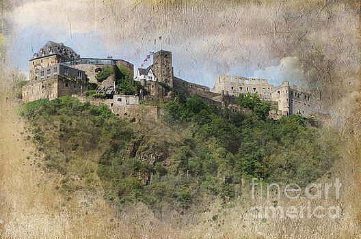 Burg Rheinfels Castle by Barbara Dudzinska