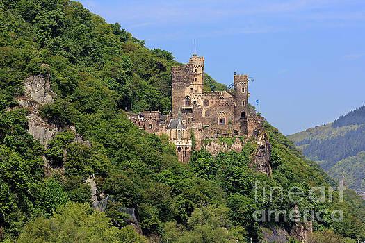 Burg Rheinstein on the Rhine Gorge Germany by Louise Heusinkveld