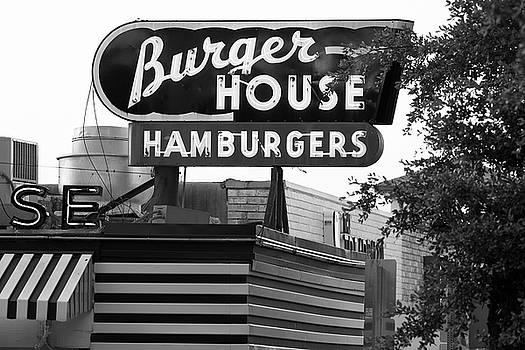 Burger House B W 062218 by Rospotte Photography