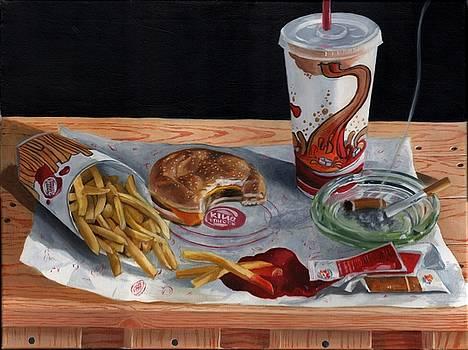 Burger King Value Meal no. 2 by Thomas Weeks
