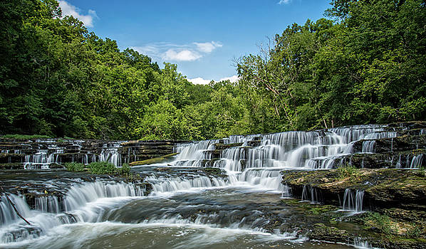 Burgess Falls 1 by Christopher L Nelson