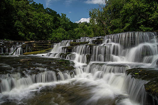 Burgess Falls 2 by Christopher L Nelson