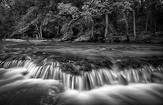Burgess Falls Mono by Christopher L Nelson