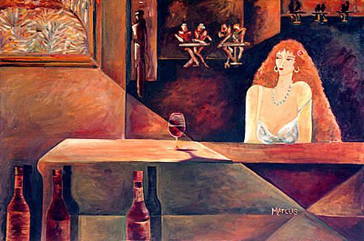 Burgundy 1 by Leslie Marcus