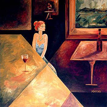 Burgundy 2 by Leslie Marcus